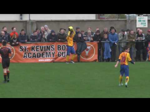 St Kevins Boys vs FC Barcelona - Group Game Academy Cup 2016