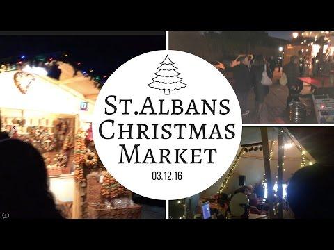 St. Albans Christmas Market 2016 | 03.12.16