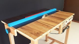 How to a Make Table Saw at Home