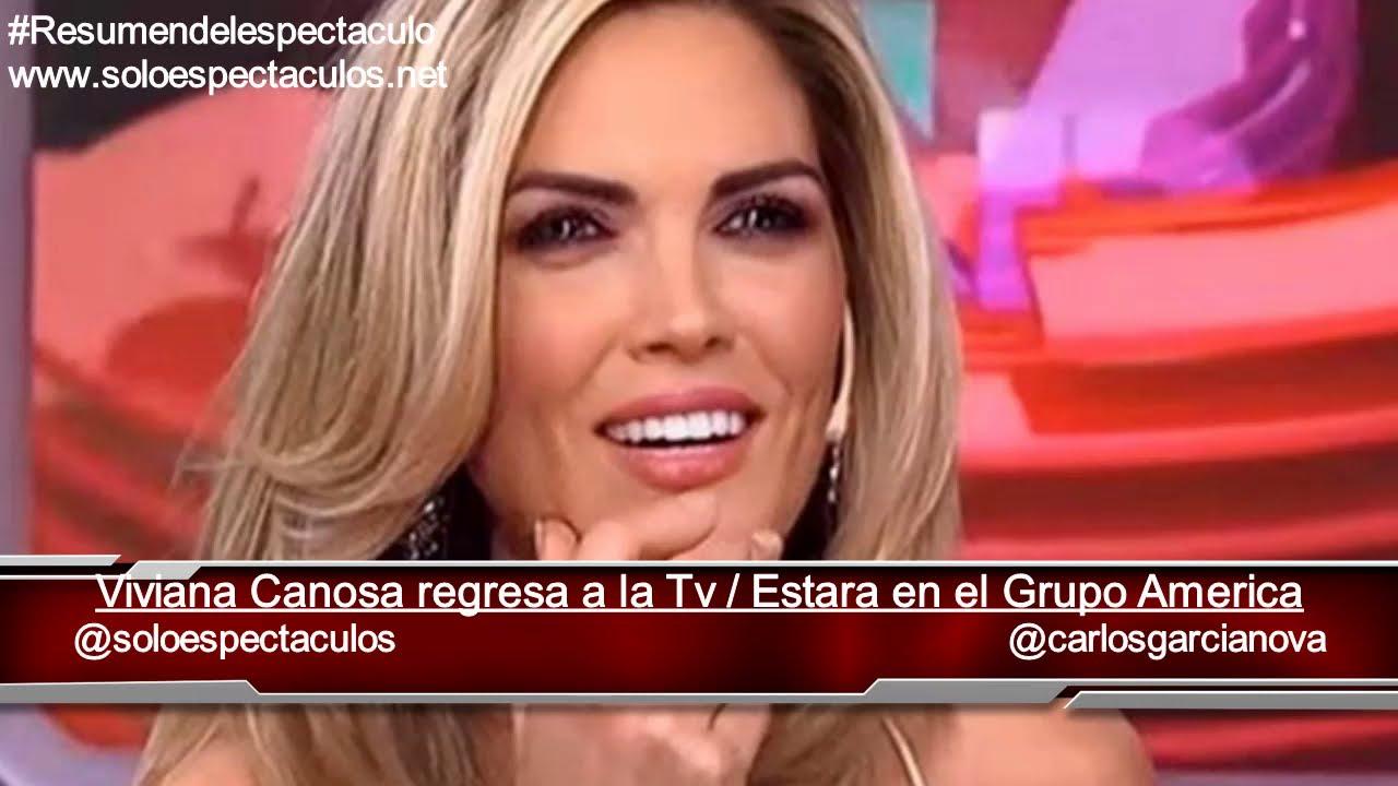 Viviana Canosa regresa a la televisión y estará muy cerca de Novaresio