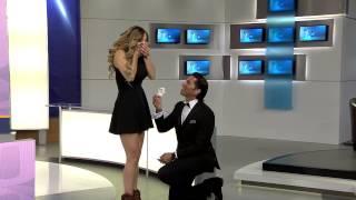 Poncho de Nigris le pide matrimonio a Marcela Mistral