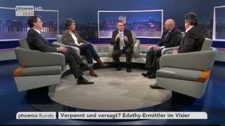 Edathy-Ermittler im Visier - phoenix Runde vom 25.02.2014