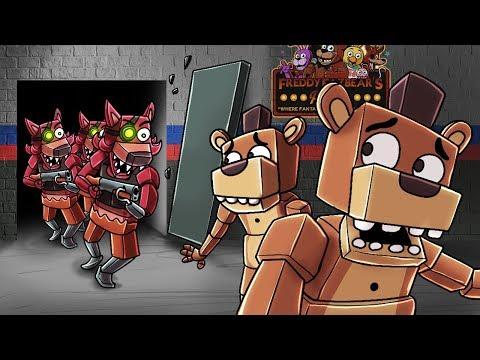 Minecraft - FNAF CIVIL WAR - Foxy Army vs Freddy Army! (Five Nights at Freddy's) thumbnail