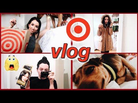 Target Haul, How I Dye My Hair at Home, Huge Jcrew Factory Sale Order, Foster Dog, Luv!...WEEK VLOG! - 동영상
