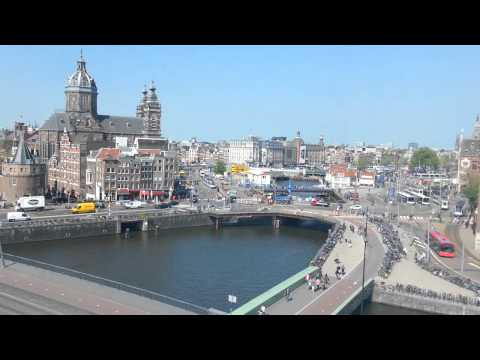 amsterdam mid day from window    30min