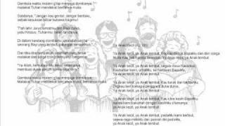 Lagu natal dari kidung jemaat 095 dan 105