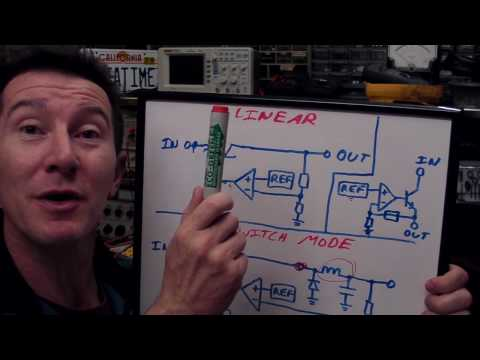 EEVblog #90 - Linear and LDO regulators and Switch Mode Power Supply Tutorial