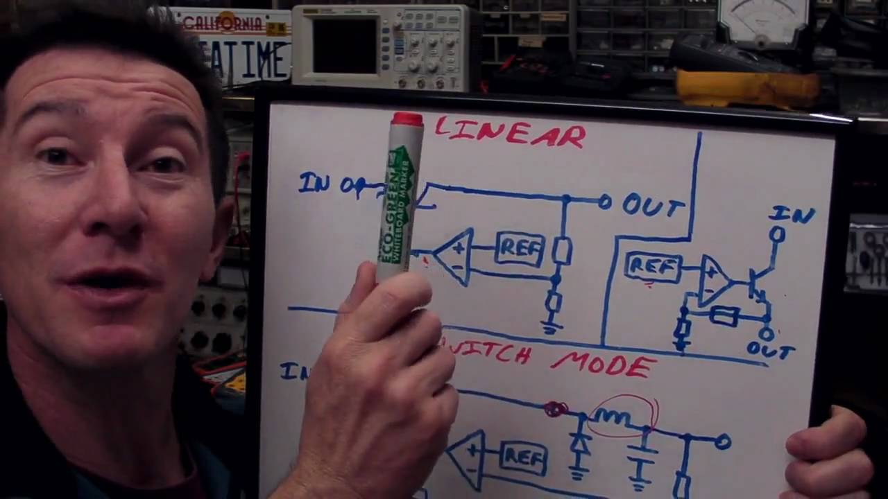Eevblog 90 Linear And Ldo Regulators Switch Mode Power Supply Switching Regulator Time Tutorial Youtube