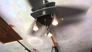 Harbor Breeze 42-inch Vector Elite Brushed Nickel Ceiling Fan, Model #: 7850744