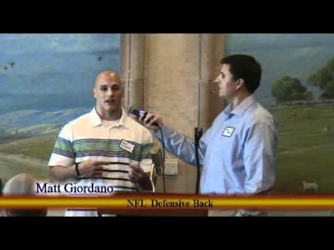 CBMC Faith and Football W/Matt Giordano by Websovid Media.mov