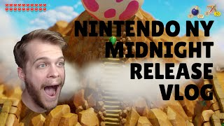 Exclusive Link's Awakening Swag From Nintendo Ny - Midnight Release Vlog