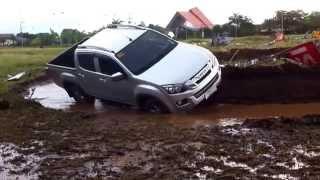 Isuzu dmax test drive challenge at pueblo de oro cdo