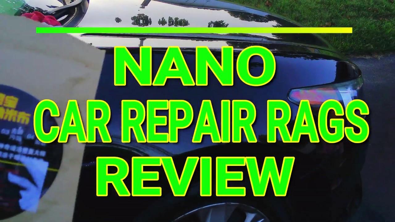 Car Cleaning Care Maintenance Accessories Multi Purpose Nano Magic Automotive Paint Scratch Repair Polishing Cloth Car Scratch Remover Cloth