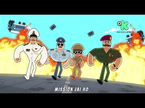 Little Singham Official Promo Featuring Rohit Shetty Youtube