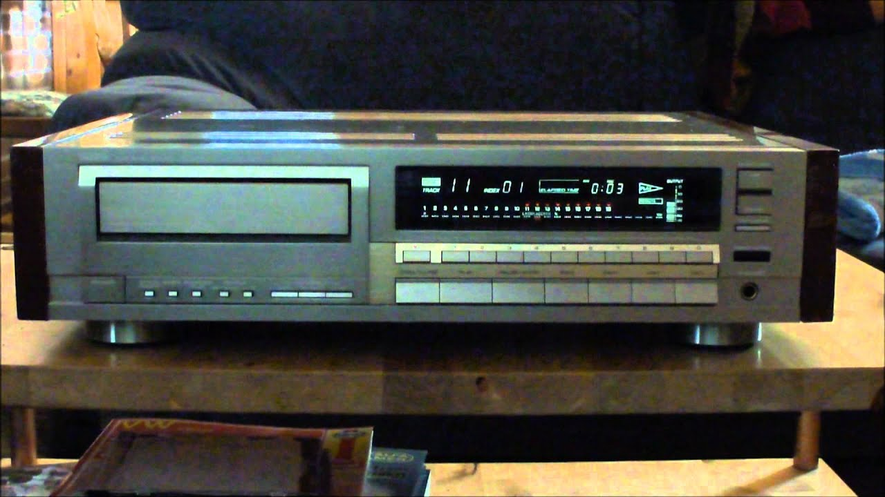 Yamaha Cdx-2000 High End Cd-player Demo