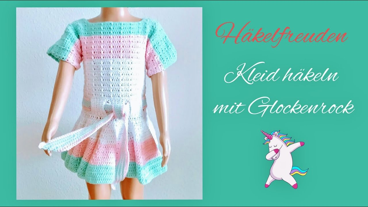 simple crochet kleid order fabf4 00db4