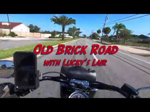 Riding The Abandoned Old Brick Road