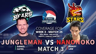 nanonoko vs Jungleman - GPL Match 3 - Week 3