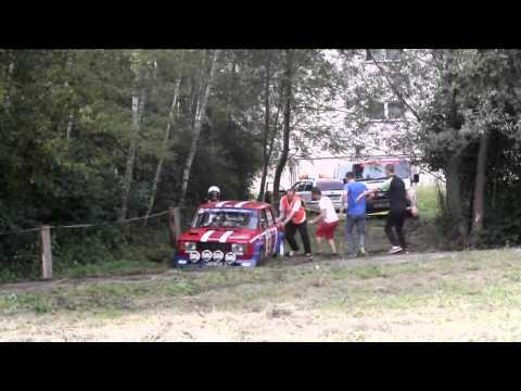 Barum Czech Rally Zlín 2014  - crash and mistakes (SS2 - Slušovice)
