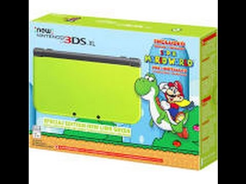 New 3DS XL Unboxing