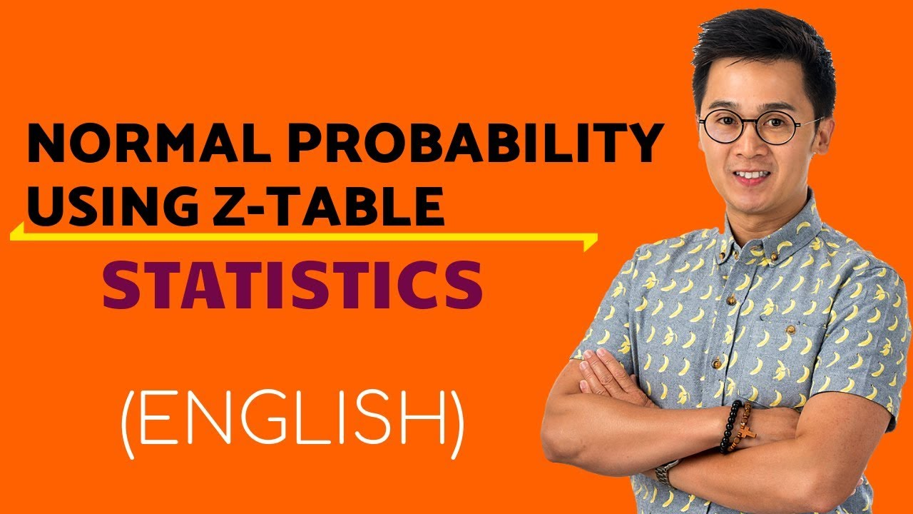 Statistics Finding Area Under The Normal Curve Using The Ztable