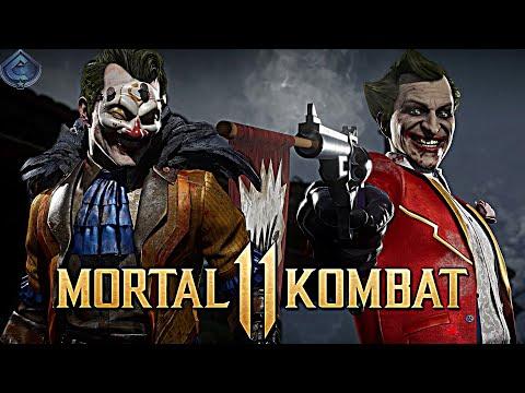 Mortal Kombat 11 Online - CRAZY JOKER COMBOS!