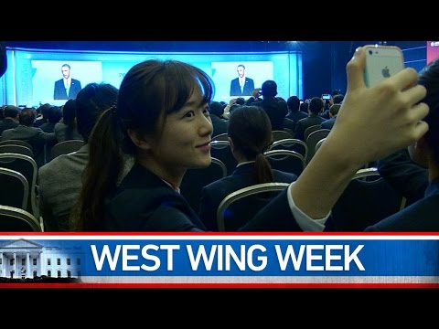 """West Wing Week: 11/14/14 or, """"The Future That We See"""""""