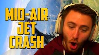 MID AIR JET CRASH (GTA V Online PC)