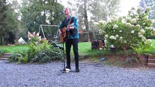 Robin Borneman, concert August 2016 on camping Les Murets