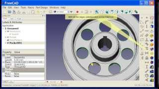 05 FreeCAD Part Design Workbench Tutorial - Modeling a Flanged Pulley