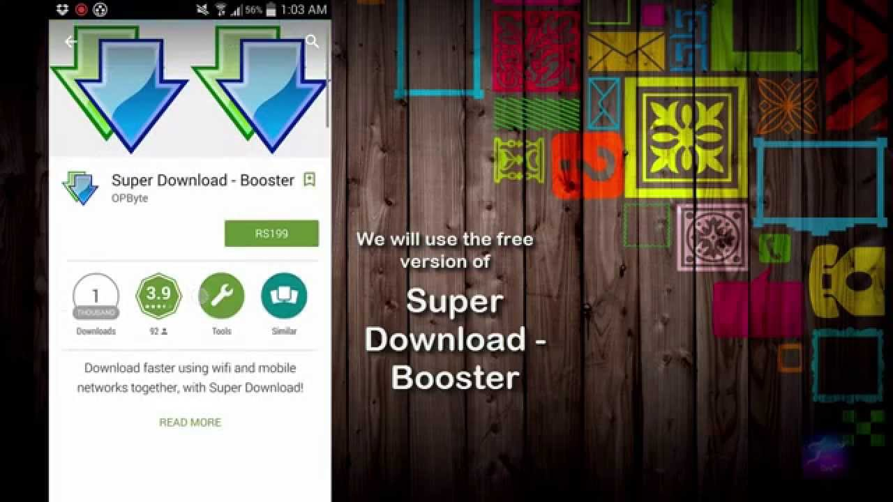 download booster android