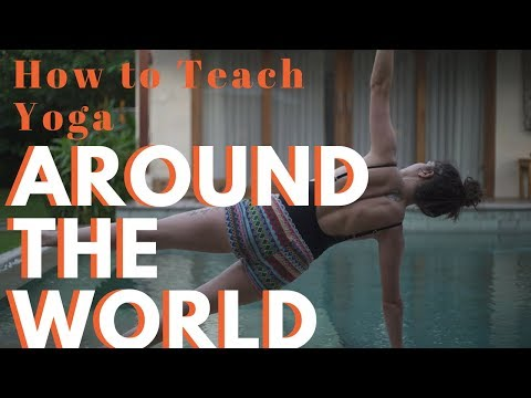 How to become an international yoga teacher