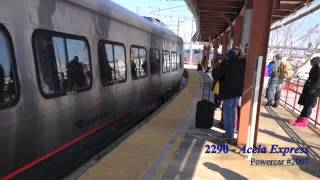 MUST SEE!! Extremely Rare Train Day in New London, CT featuring Viewliner 61027