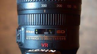 NIKON AFS 70-300mm F 4 5-5 6G VR -