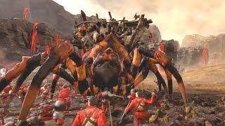 Total War WARHAMMER Битва на перевале Черного огня. 60 FPS 11 минут геймплей