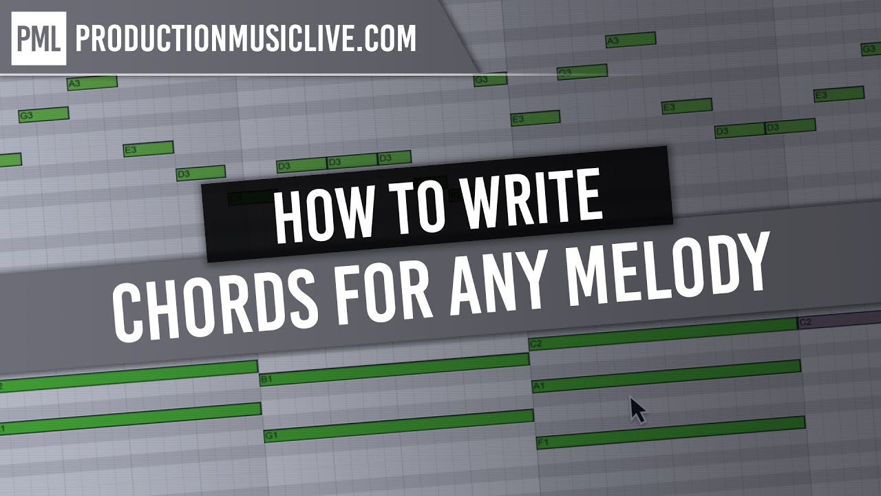 How To Find Chords For Any Melody Youtube