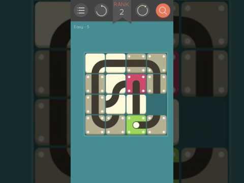 Puzzlerama - Unroll - Easy - 4,5,6,7