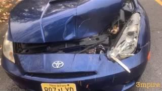 Авария Нью-Джерси🇺🇸стояли смотрели как мотор на Toyota Celica даёт клина,попадёт ли она на Copart?