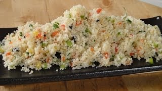 Couscous Salad With Honey Lemon Vinaigrette | Sanjeev Kapoor Khazana