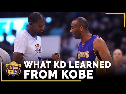 Kevin Durant On What He Learned From Kobe Bryant