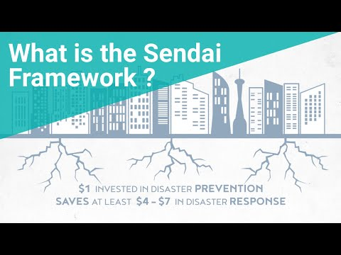 Sendai Framework Priority 3: Investing in disaster risk reduction for resilience