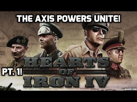 HOI4 Multiplayer! The Axis Powers Unite!