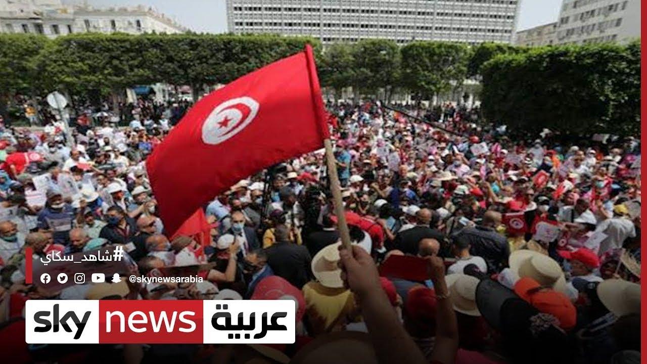 تونس .. استطلاع رأي يظهر عدم ثقة الشارع التونسي بحركة النهضة | #مراسلو_سكاي#  - نشر قبل 3 ساعة