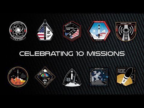 Rocket Lab - Celebrating 10 Missions
