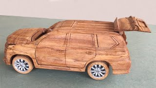 Wood Carving --- Lexus LX 570 Special Edition --- Top of Wood Art