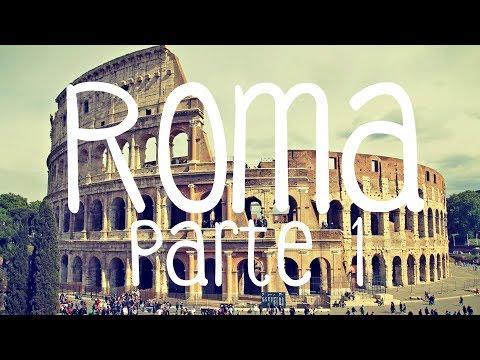 ROMA - ITÁLIA - PARTE 1 (COLISEU, FÓRUM ROMANO, FONTANA DI TREVI)