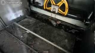 так падает лифт!(Рабочие демонтируют лифтовую кабину и решили при этом снять на камеру момент того, как эффектно он рухнет..., 2014-01-24T21:34:19.000Z)