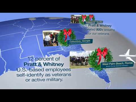 Pratt & Whitney teams up with Wreaths Across America