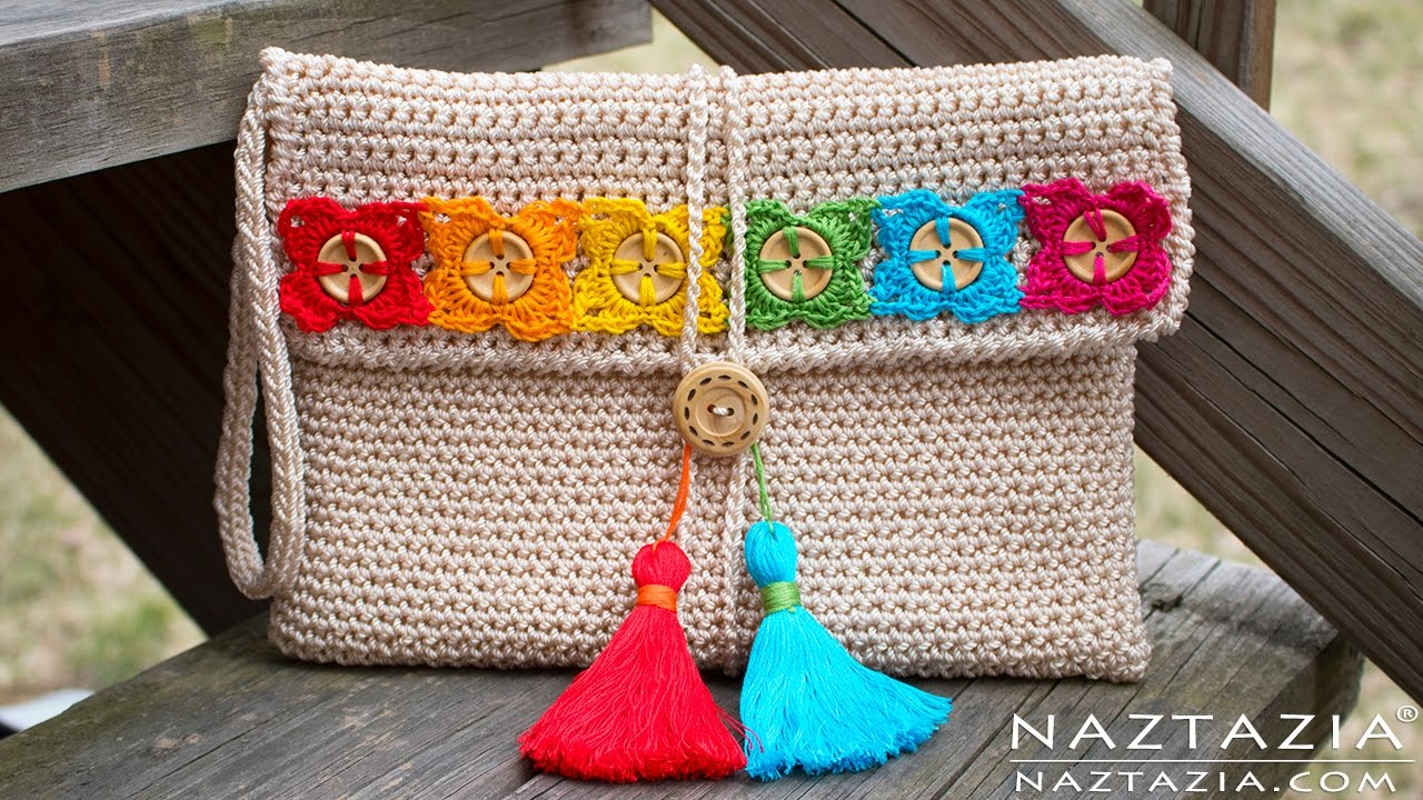 Diy tutorial crochet bohemian clutch boho evening hand bag diy tutorial crochet bohemian clutch boho evening hand bag bolsa collab hectanooga1 bankloansurffo Gallery