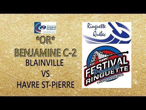 BENJAMINE C-2 *OR*  - FESTIVAL PROVINCIAL RINGUETTE 2016